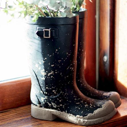 Garden Planters Ceramic Flower Pots Plum Post