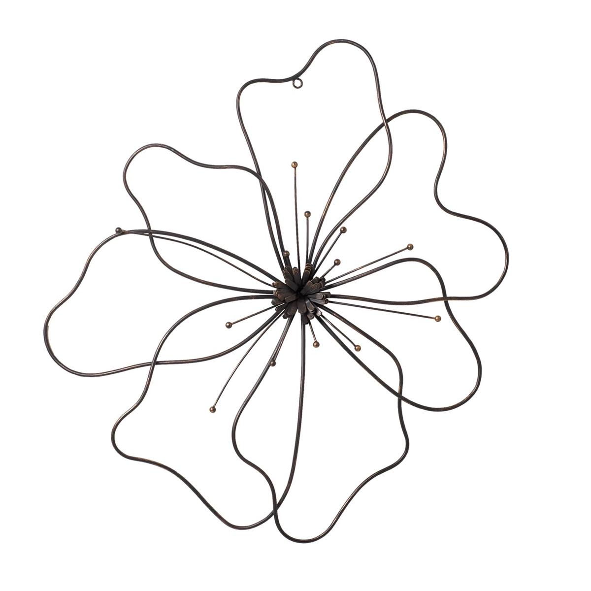 sc 1 st  Plum u0026 Post & Poppy Wall Flower Large Wall Art | Plum u0026 Post