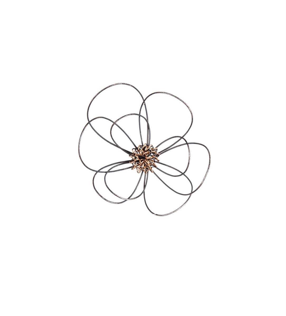 Wire Flower Wall Art Mini