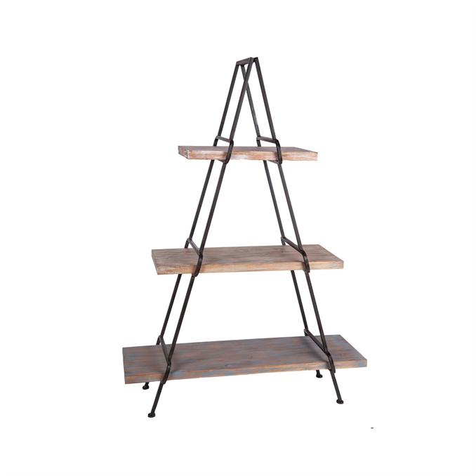a frame shelving unit metal u0026 wood wall shelf plum u0026 post
