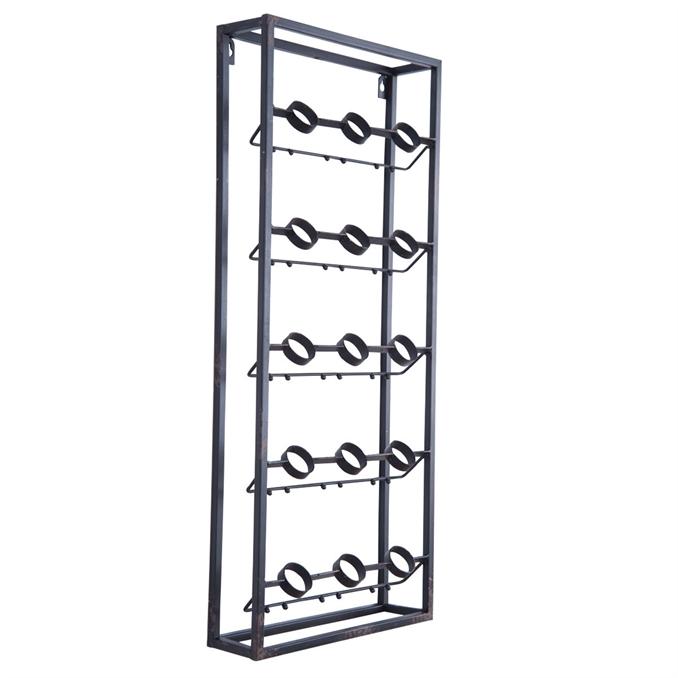 Metal Grid Wall grid wall wine rack | plum & post