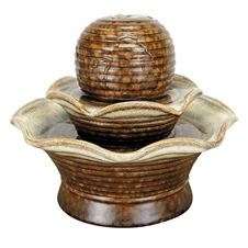 Tiered, Brown  - Water Fountain  | Plum & Post
