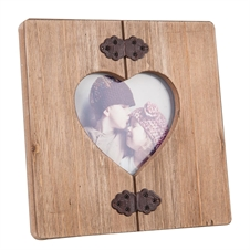 4X6 Hinged Heart Photo Frame | Plum & Post