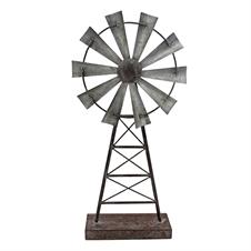 windmill table decor large decorative accent plum post - Decorative Accents