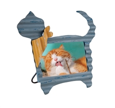 Metal Cat Picture Frame | Plum & Post