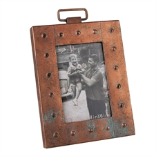 Aviator Metal Picture Frame, 4x6 Decorative Frame | Plum & Post