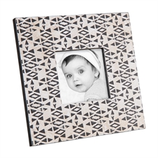3X3 Diamond Printed Photo Frame | Plum & Post