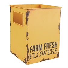 Farm Fresh Flower Tin