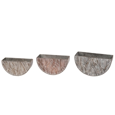 Source Planters, Set Of 3